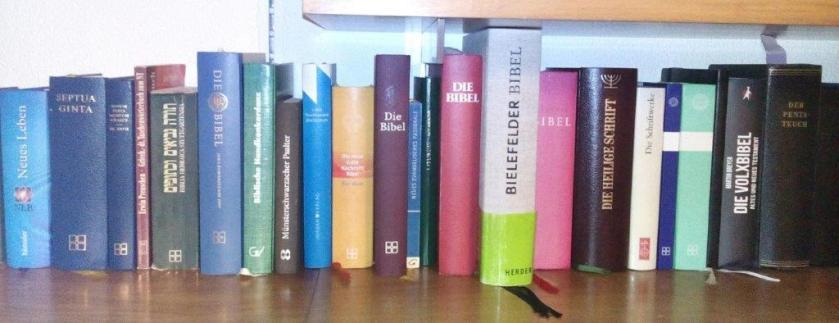 Verschiedene Bibeln